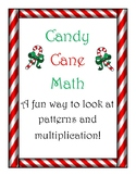 Candy Cane Math:  Patterning, Graphing, Operations, & Coop