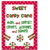 Candy Cane Math and Literacy Centers and Activities
