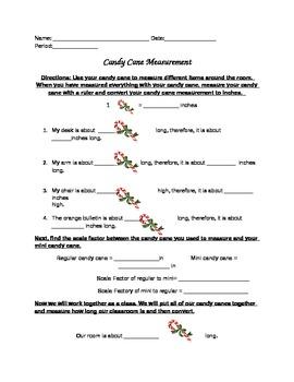 Candy Cane Measurement