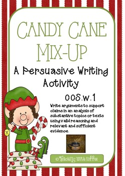 Candy Cane Mix Up- A Persuasive Writing Activity