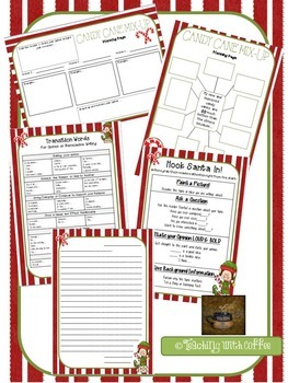 Christmas Persuasive Writing {Candy Cane Mix-Up}