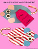 Christmas Candy Cane Mouse Craft