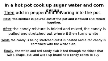 Candy Cane Nonfiction Power Point