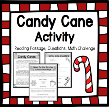 Candy Cane Packet