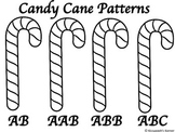 Candy Cane Pattern Coloring