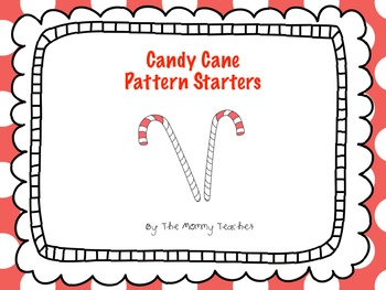 Candy Cane Pattern Starters