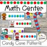 Candy Cane Patterns   Math Center   Fine Motor   Preschool   Kindergarten