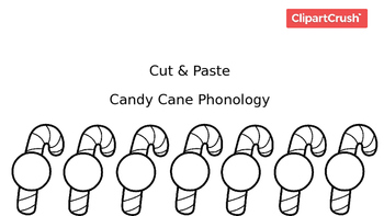 Candy Cane Phonology Printable Packet