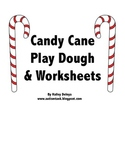 Candy Cane Play Dough and Worksheets