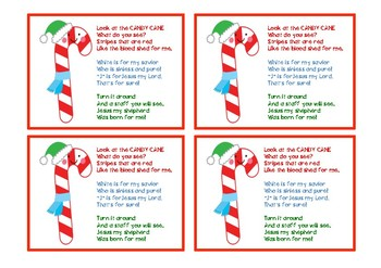photo about Candy Cane Poem Printable called Sweet Cane Poem by way of CKim Creations Instructors Spend Instructors