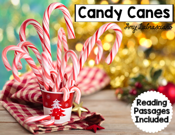 Candy Cane Reading Passages