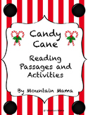 Candy Cane Reading Passages and Activities with Bible Vers