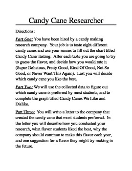 Candy Cane Researcher