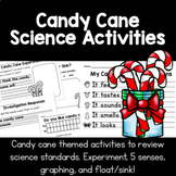 Candy Cane Science | Float & Sink, 5 Senses, Experiment an