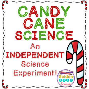 Christmas Science INDEPENDENT Science Experiment