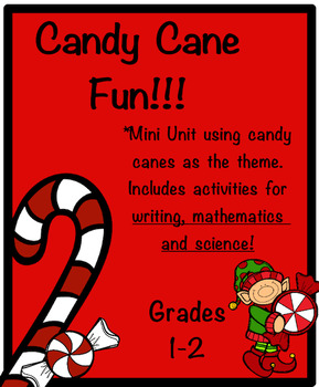 Candy Cane Science, Math, and Literature Activity