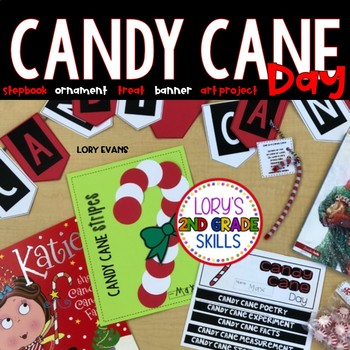 Candy Cane Day Activities and  Stepbook
