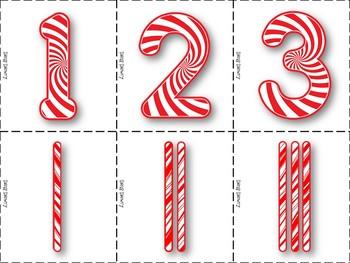 Candy Cane Tallies