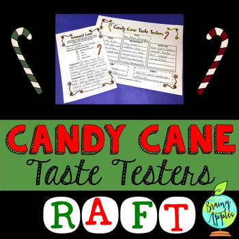 Candy Canes, Winter, Christmas, Opinion, Persuasive Writing, RAFT