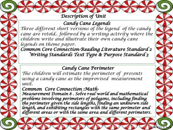 Candy Cane Thematic Unit