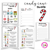 Candy Cane Winter Slime Activity