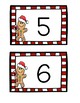 Candy Cane Writing Tray - Gingerbread Theme