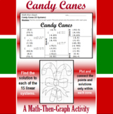 Candy Canes - A Math-Then-Graph Activity - 15 Systems