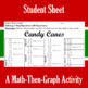 Candy Canes - A Math-Then-Graph Activity - Solve 2-Step Equations