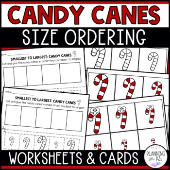 Candy Canes - From Smallest to Largest