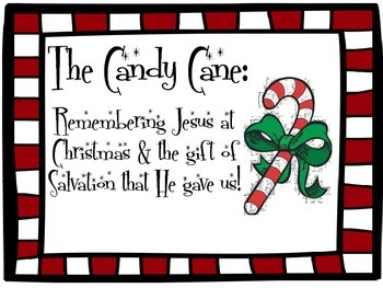 Candy Canes for Jesus Sunday School Lesson
