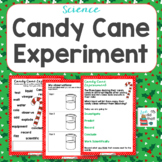 Candy Canes in Liquids Christmas Science