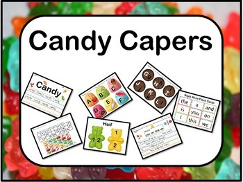 Candy Capers Literacy & Math Kit