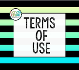 Candy Class Terms of Use for Graphic Art Products