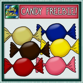 Candy Clip Art FREEBIE - Pilly Present