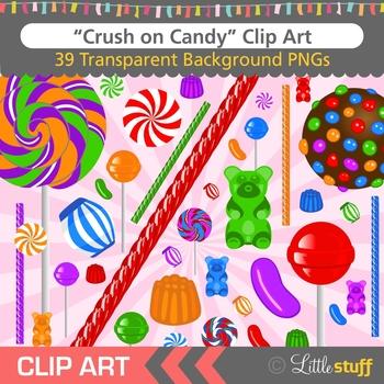 Candy Clip Art (Set of 39+1)
