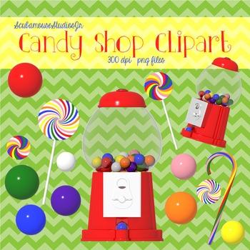 Candy Clipart, Gumball Machine, Gumballs, Stick Candy