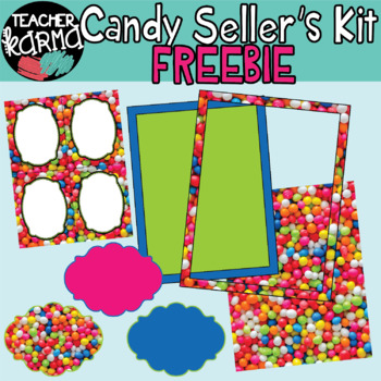 Candy Clipart: Perfect for TpT Sellers **FREEBIE**