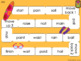 Long Vowel Team Games with ai, ea, ee, oa and mixed long vowels