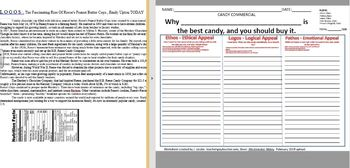 Candy Commercial - Persuasion Presentation - Flipgrid - Persuasive Appeals