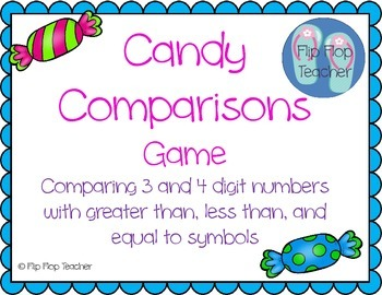 Candy Comparisons Game