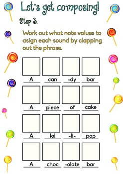 Candy Composition Worksheet