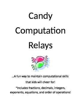 Candy Computation Relay Pack