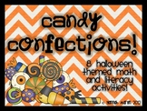 Candy Confections! {8 Halloween Themed Activities}