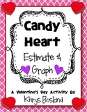 Candy Conversation Heart Estimate and Graph {A Sweet Valentine's Day Activity}
