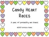 Candy Conversation Heart Races Preschool Math Dice Game Va
