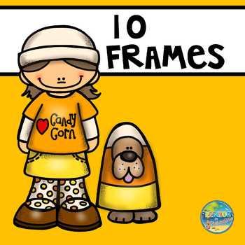 Candy Corn 10 Frames