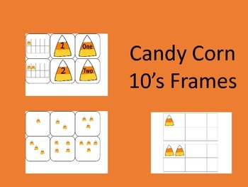 Candy Corn 10's Frames