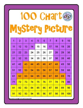 Hundreds Chart Mystery Picture Candy Corn