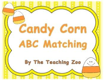 Candy Corn ABC Matching