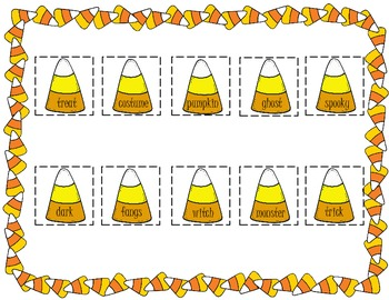 Candy Corn ABC Order